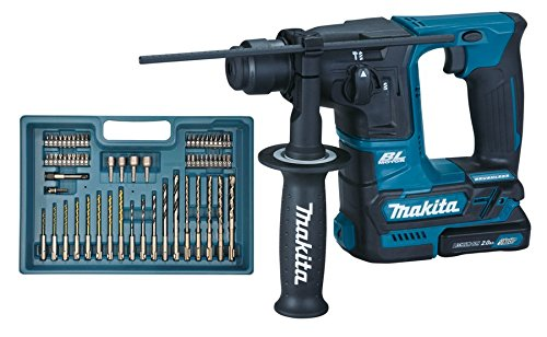 makita hr166dsae1 akku kombihammer inkl bohrer bit set. Black Bedroom Furniture Sets. Home Design Ideas