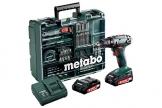 Metabo BS 18 Mobile Werkstatt Set