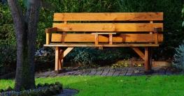 Gartenbank selber bauen - Werkzeug